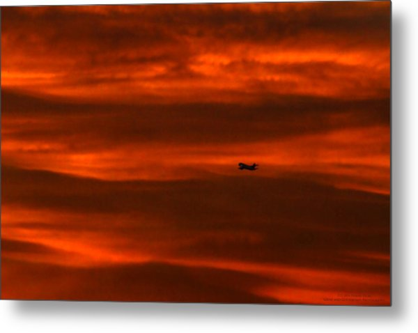 Beyond Now By Denise Dube Metal Print