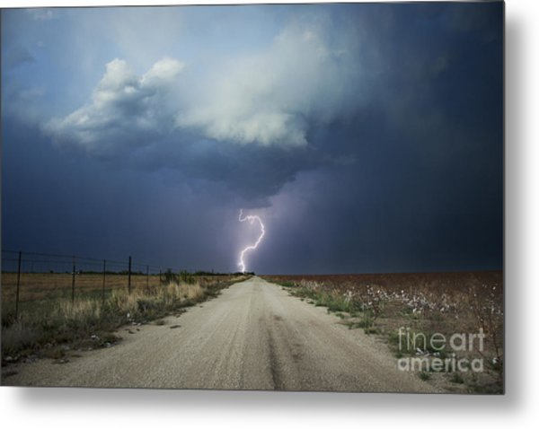 Beyond The Open Road Metal Print