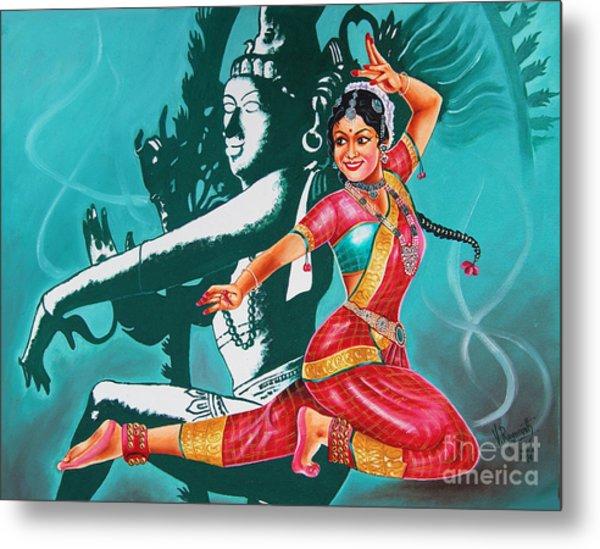 Bharatanatyam Metal Print