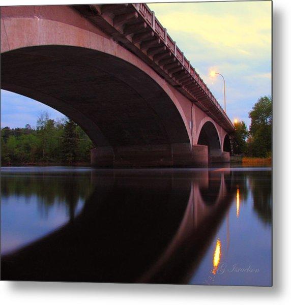 Biauswah Bridge Metal Print