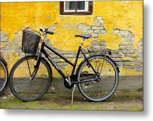 Bicycle Aarhus Denmark Metal Print