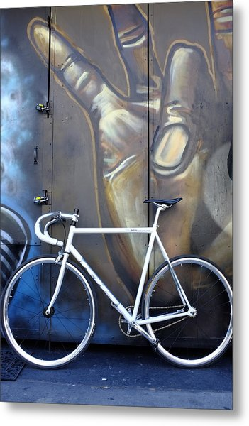 Bicycle Toronto Ontario Metal Print