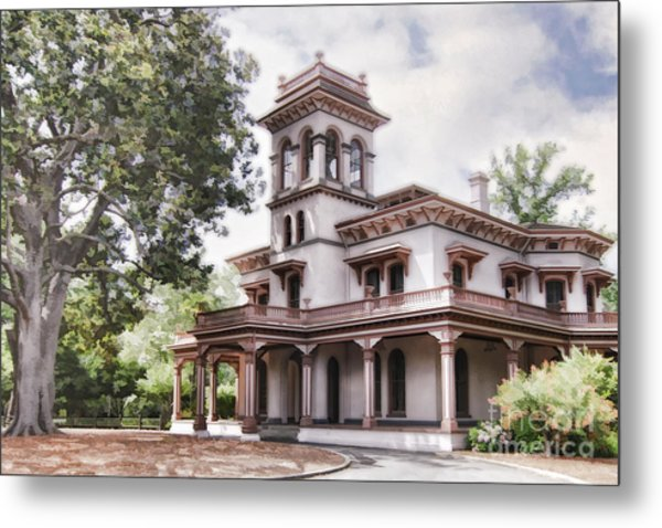 Bidwell Mansion Metal Print