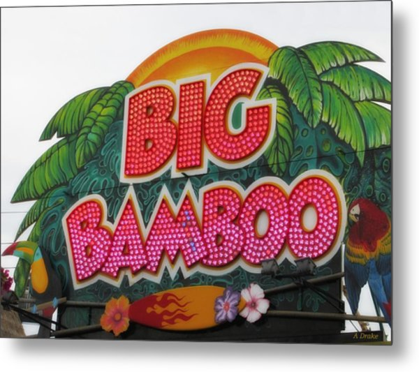 Big Bamboo Metal Print