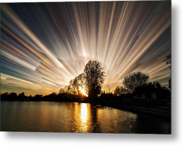 Big Bang Metal Print