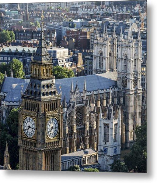 Big Ben And Westminster Metal Print