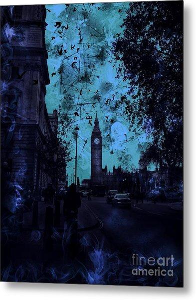 Big Ben Street Metal Print