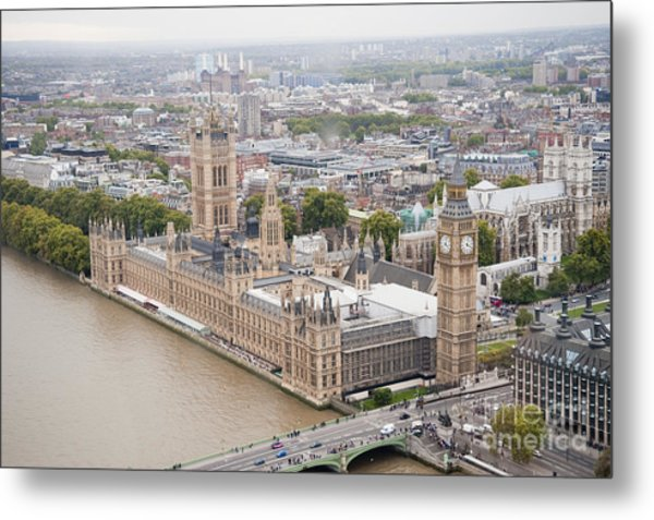 Big Ben Westminster Metal Print by Donald Davis