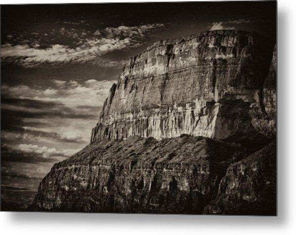 Big Bend Cliffs Metal Print
