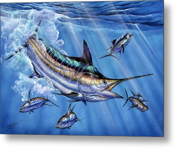 Big Blue And Tuna Metal Print