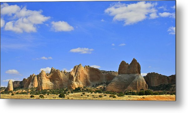 Big Blue Sky Metal Print