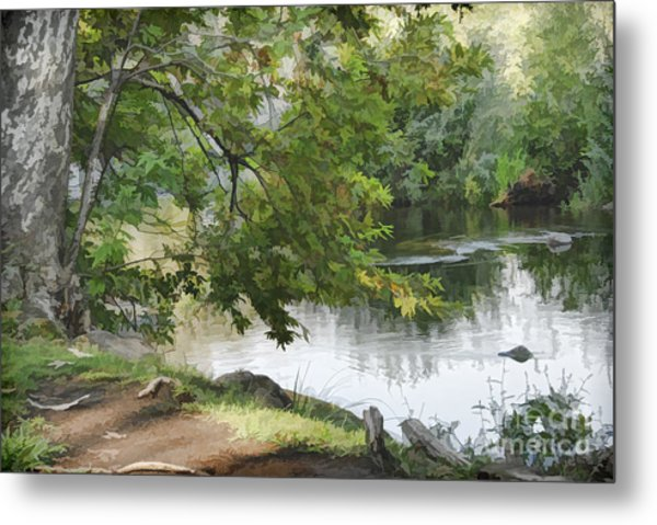 Big Chico Creek Metal Print