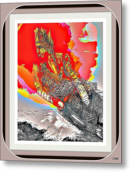 Big Chief Metal Print by Whitey Martin