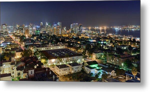 Big City Nights Metal Print
