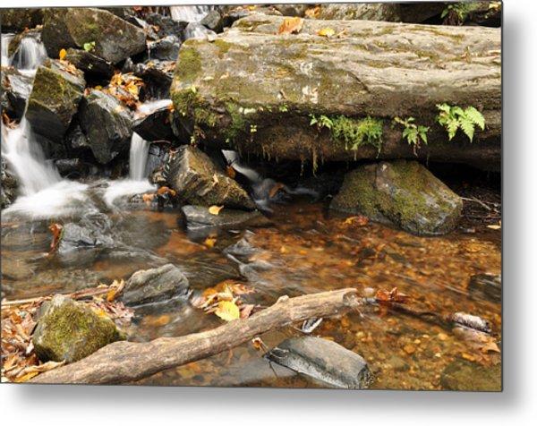 Big Crabtree Creek Near The Blue Ridge Parkway Metal Print