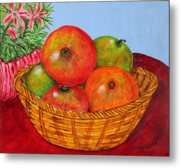 Big Fruit Metal Print