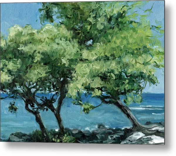 Big Island Trees Metal Print by Stacy Vosberg