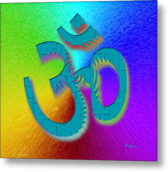 Big Ohm Metal Print