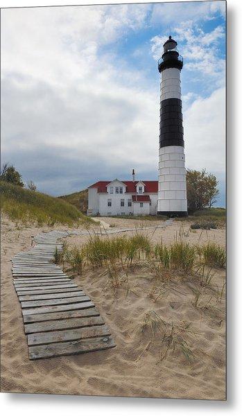 Big Sable Point Lighthouse Metal Print