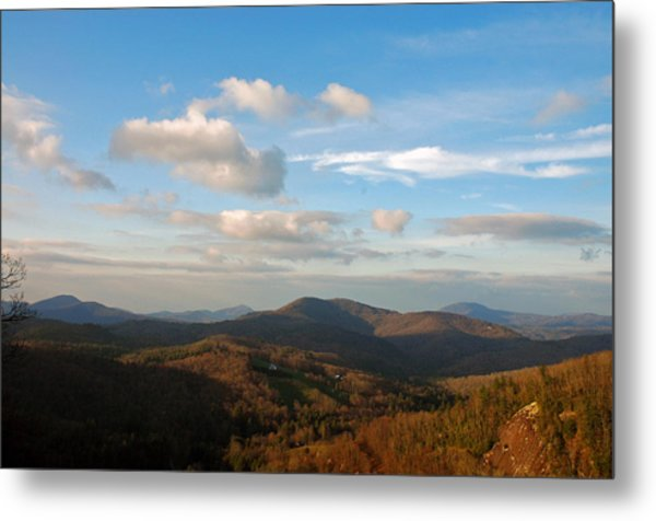 Big Sky In Cashiers Metal Print