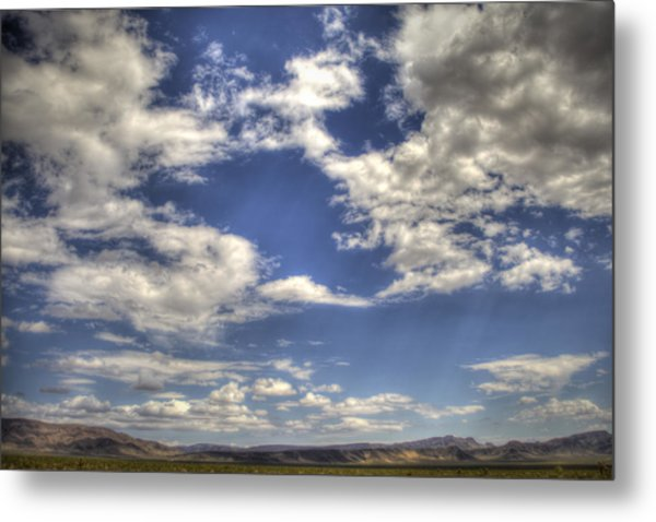 Big Sky Nevada Metal Print