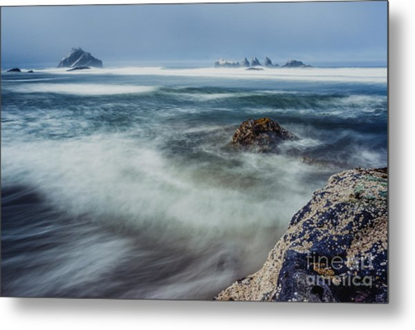 Big Splash Metal Print