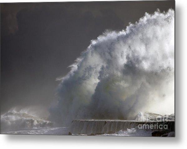 Big Storm Wave Metal Print by Boon Mee