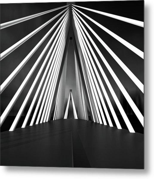 Big String Bridge Metal Print