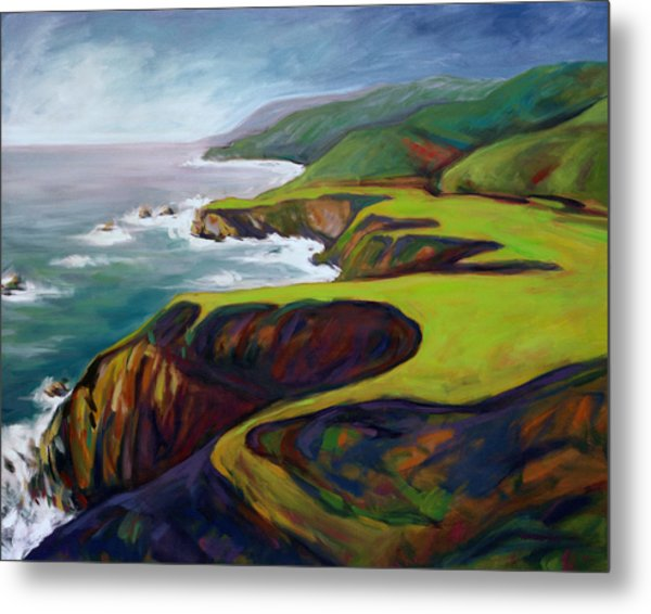 Big Sur 2 Metal Print