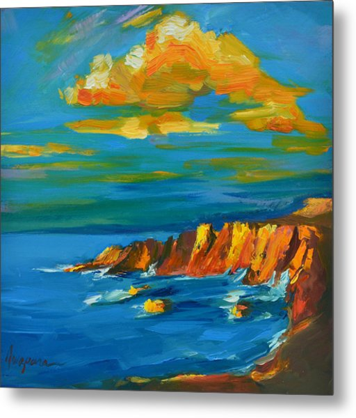 Big Sur At The West Coast Of California Metal Print