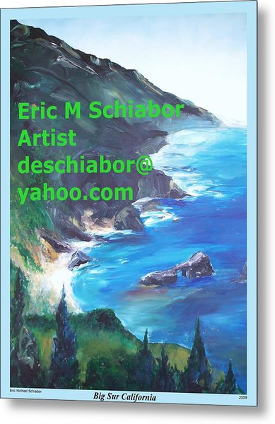Big Sur Califorina Metal Print