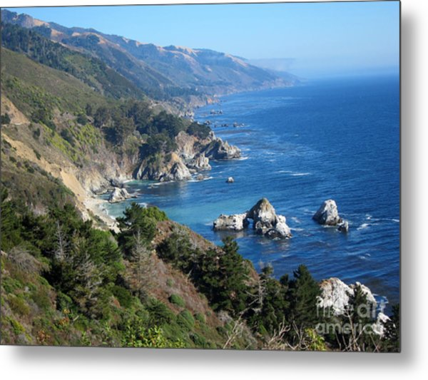 Big Sur Coast Ca Metal Print