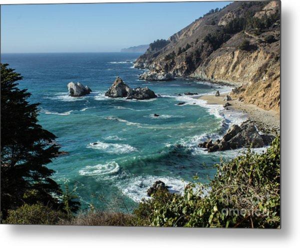 Big Sur Coast From Julia Pfeiffer Burns Metal Print