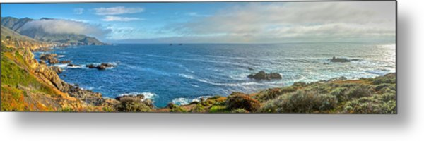 Big Sur Coast Pano 2 Metal Print