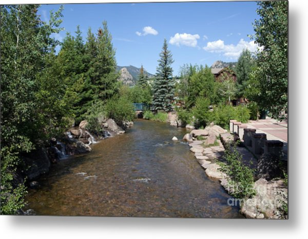 Big Thompson Estes Park Metal Print