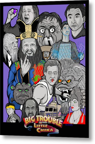 Big Trouble Metal Print by Gary Niles