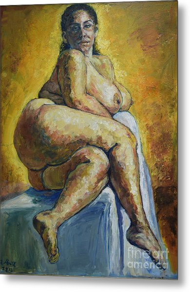 Big Woman Metal Print