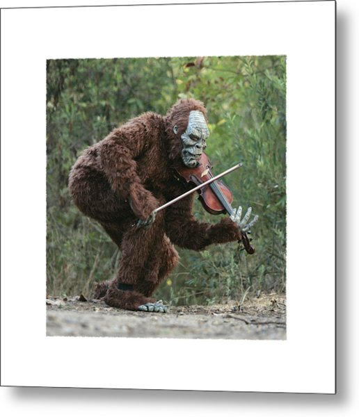 Bigfoot Viola Metal Print