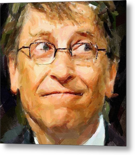 Bill Gates Metal Print