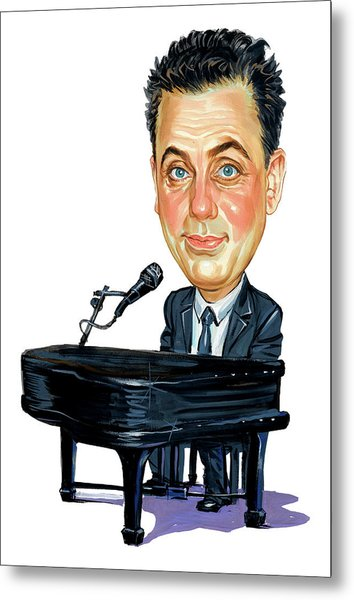 Billy Joel Metal Print