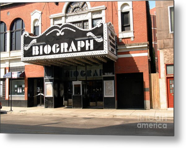 Biograph Theatre John Dillinger's Last Night Out Metal Print