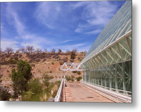 Biosphere 2 Metal Print