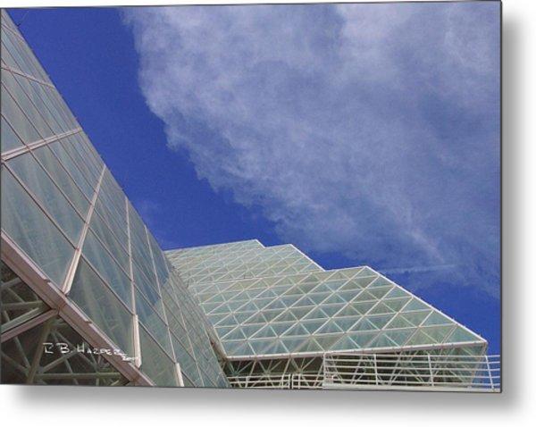 Biosphere 2 Glazing Metal Print