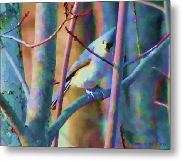 Bird Of Another Color Metal Print