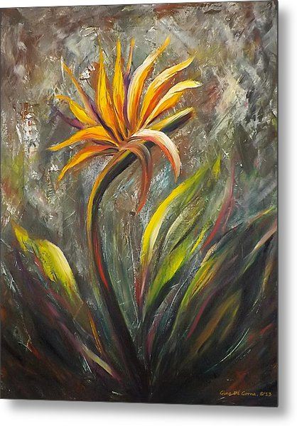 Bird Of Paradise 63 Metal Print