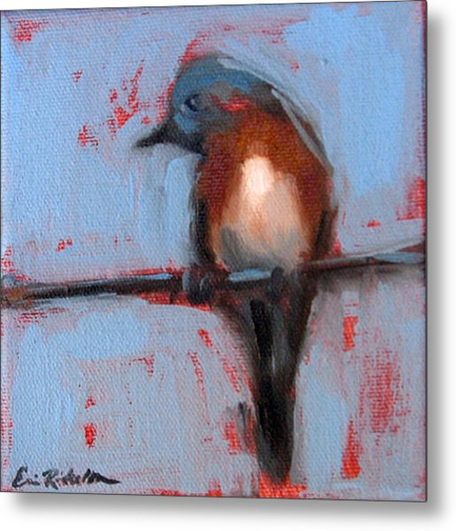 Bird On A Wire IIi Metal Print
