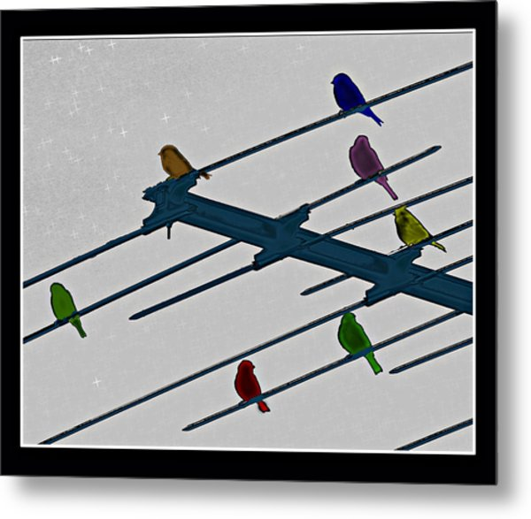 Bird Reception Metal Print