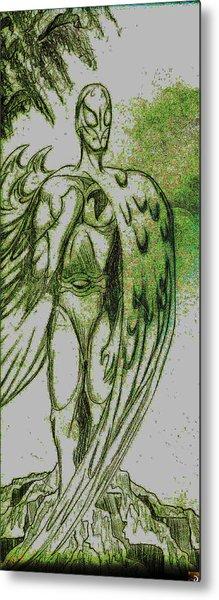 Birdman Metal Print by Jazzboy