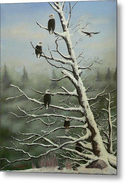 Birds Of A Feather... Metal Print