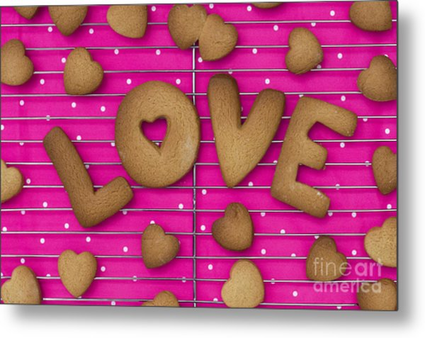 Biscuit Love Metal Print